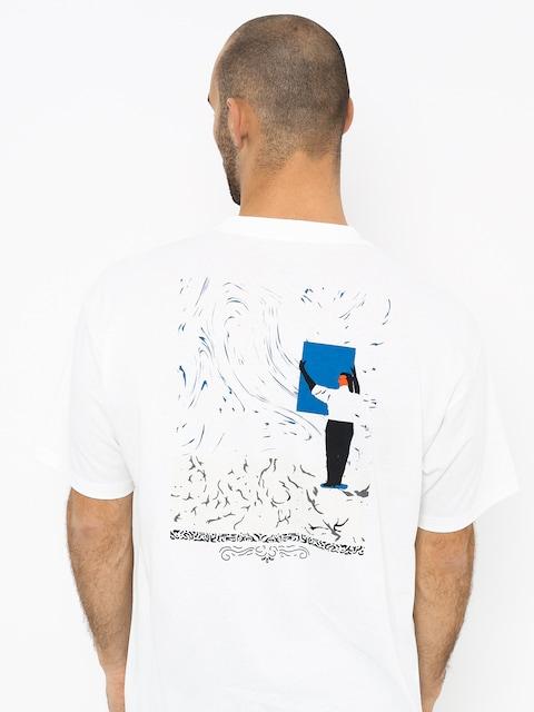 T-shirt Polar Skate Hanging A Painting