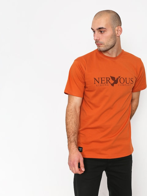 T-shirt Nervous Classic (brick)