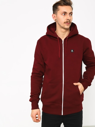 Bluza z kapturem Nervous Icon ZHD (maroon)