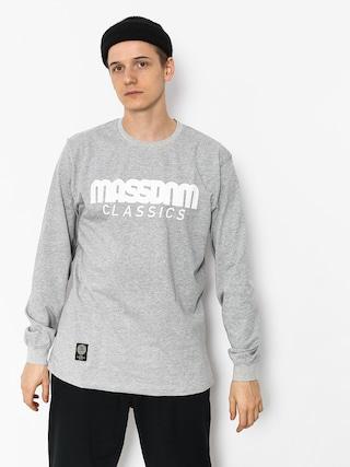 Longsleeve MassDnm Classics (light heather grey)