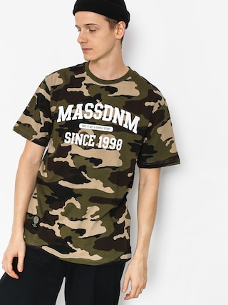 T-shirt MassDnm Campus (woodland camo)