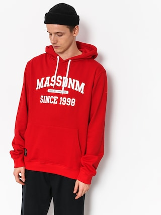 Bluza z kapturem MassDnm Campus HD (red)