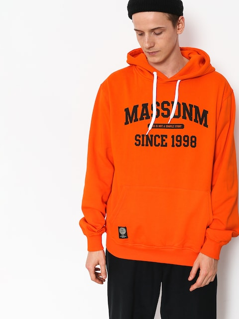 Bluza z kapturem MassDnm Campus HD (orange)