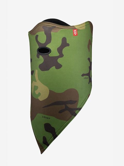 Bandana Airhole Facemask Standard (woodland camo)