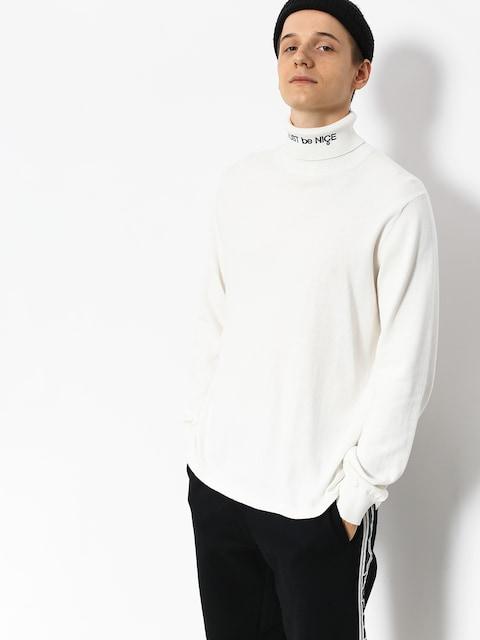 Bluza RipNDip Mbn Turtleneck (white)
