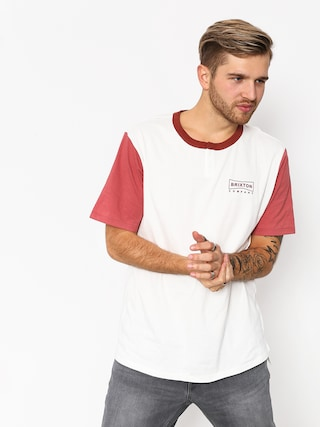 T-shirt Brixton Wedge Hnly (off white/rust)