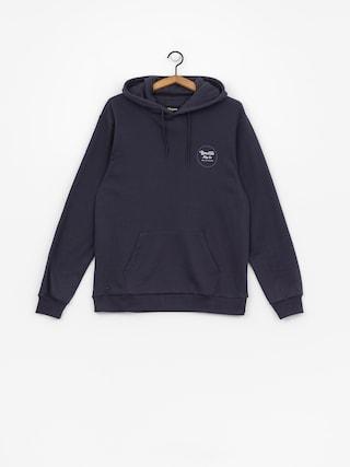Bluza z kapturem Brixton Wheeler Intl HD (washed navy)