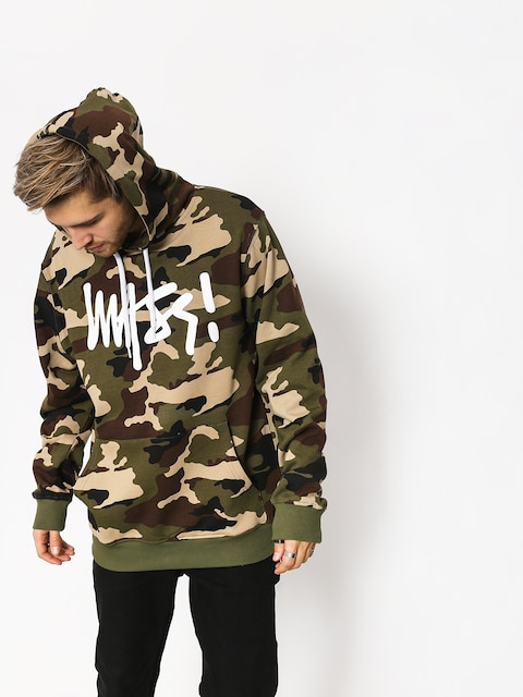 Bluza z kapturem MassDnm Signature HD (woodland camo)
