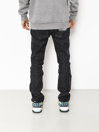Spodnie MassDnm Classics Jeans Straight Fit (black rinse)