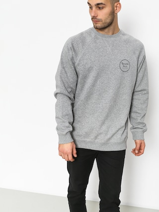 Bluza Brixton Wheeler Intl Crew (heather grey)