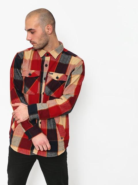 Koszula Brixton Durham Ls (red/navy)