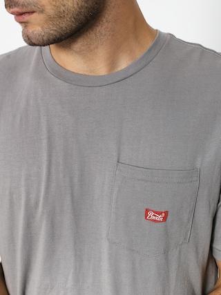 T-shirt Brixton Stith Wl Pkt (cement)
