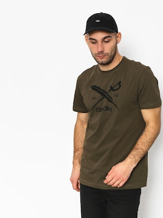T-shirt Iriedaily Daily Flag (olive)