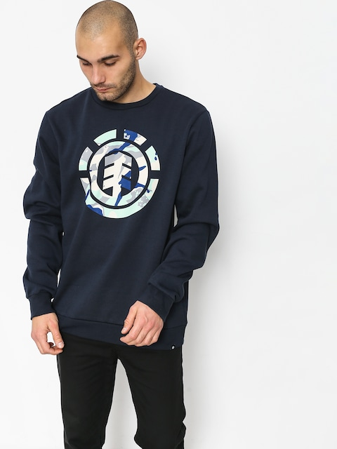 Bluza Element Spirit Camo Crew (eclipse navy)