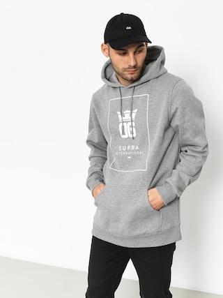 Bluza z kapturem Supra Og Intl HD (grey heather/white)
