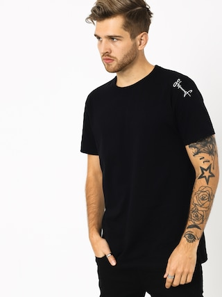 T-shirt Stoprocent Tms Small Tag (black)