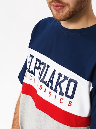 T-shirt El Polako School (navy/grey)