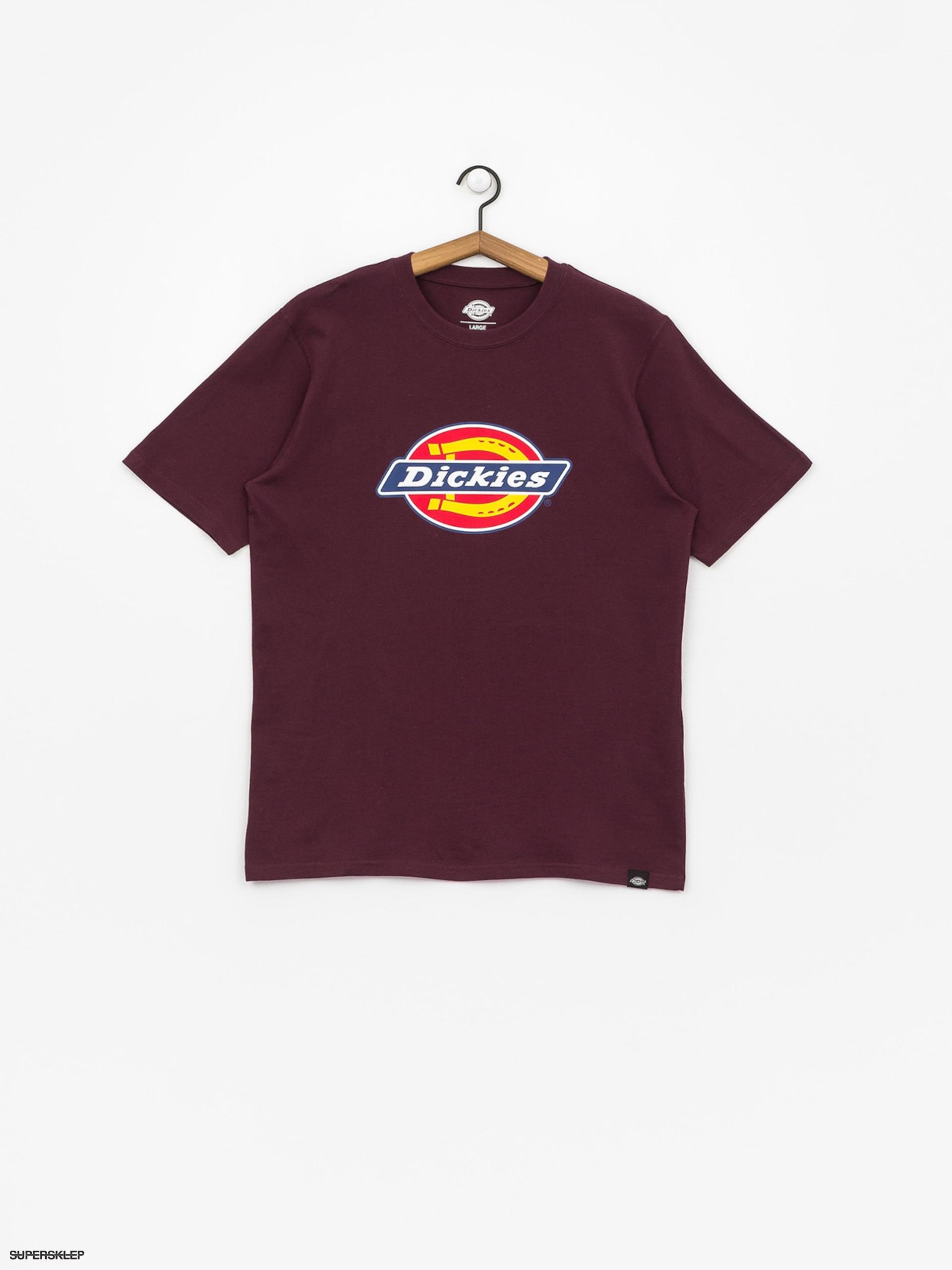 Dickies HORSESHOE TEE - T-shirt z nadrukiem - black