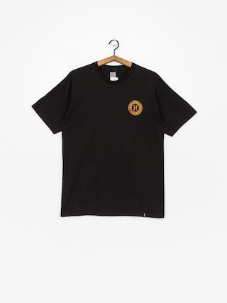 T-shirt HUF Spitfire Fire Swirl (black)