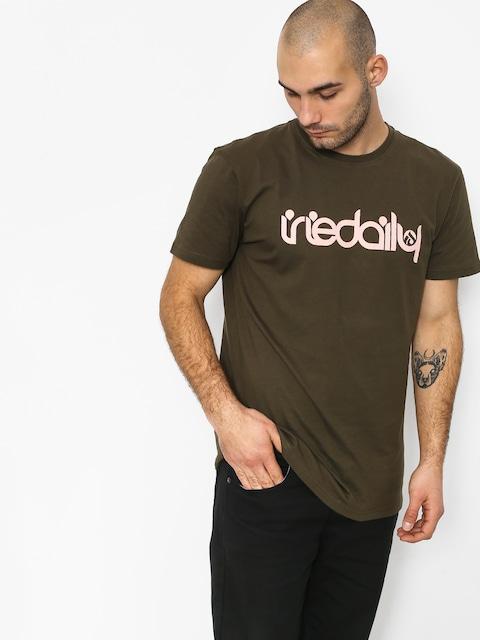 T-shirt Iriedaily No Matter 4 (olive rose)