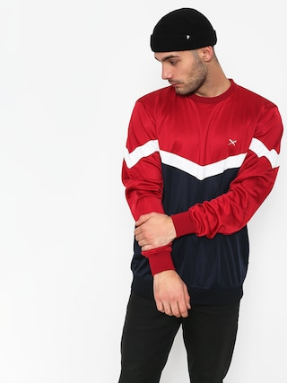 Bluza Iriedaily Block Steady (navy red)