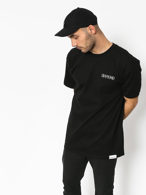 T-shirt Diamond Supply Co. Split (black)