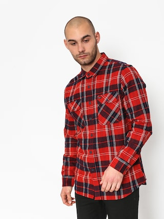 Koszula Brixton Bowery Ls (red/navy)