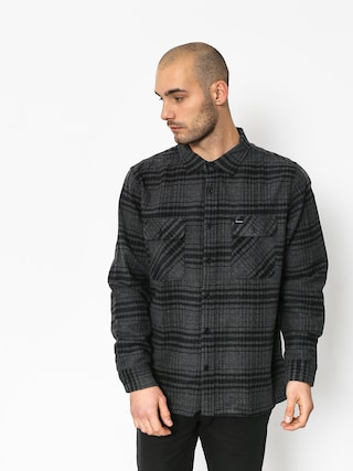 Koszula Brixton Archie Ls (black/heather charcoal)