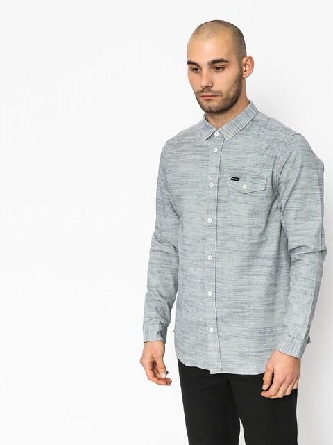 Koszula RVCA Honest Ls (silver bleach)