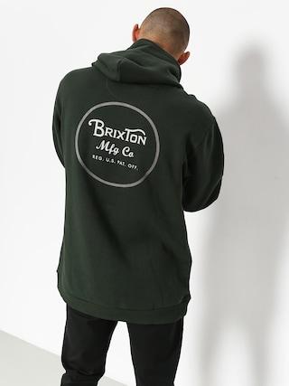 Bluza z kapturem Brixton Wheeler Intl HD (pine)