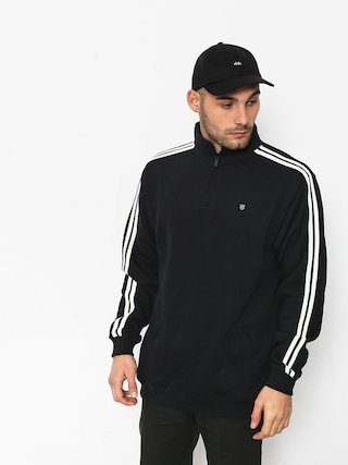 Bluza Brixton B Shield 1/2 Zip (black/cream)