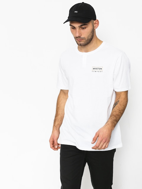 T-shirt Brixton Wedge Hnly (white)