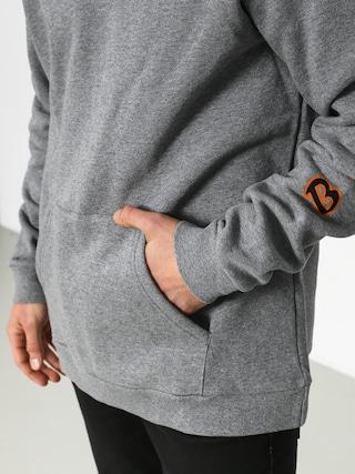 Bluza z kapturem Brixton Primo Intl HD (heather grey)