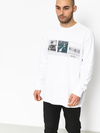 Longsleeve Element Brandon Westgate (optic white)