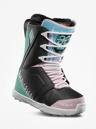 Buty snowboardowe ThirtyTwo Lashed Melancon Wmn (black/pink/green)