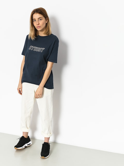 T-shirt Stussy College Tee Wmn
