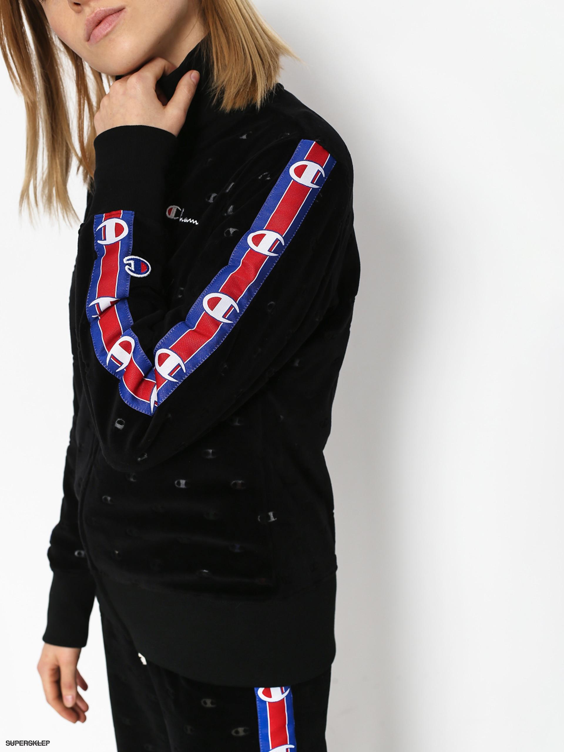 4ff633208 Bluza z kapturem Champion Full Zip Sweatshirt ZHD Wmn (nbk)