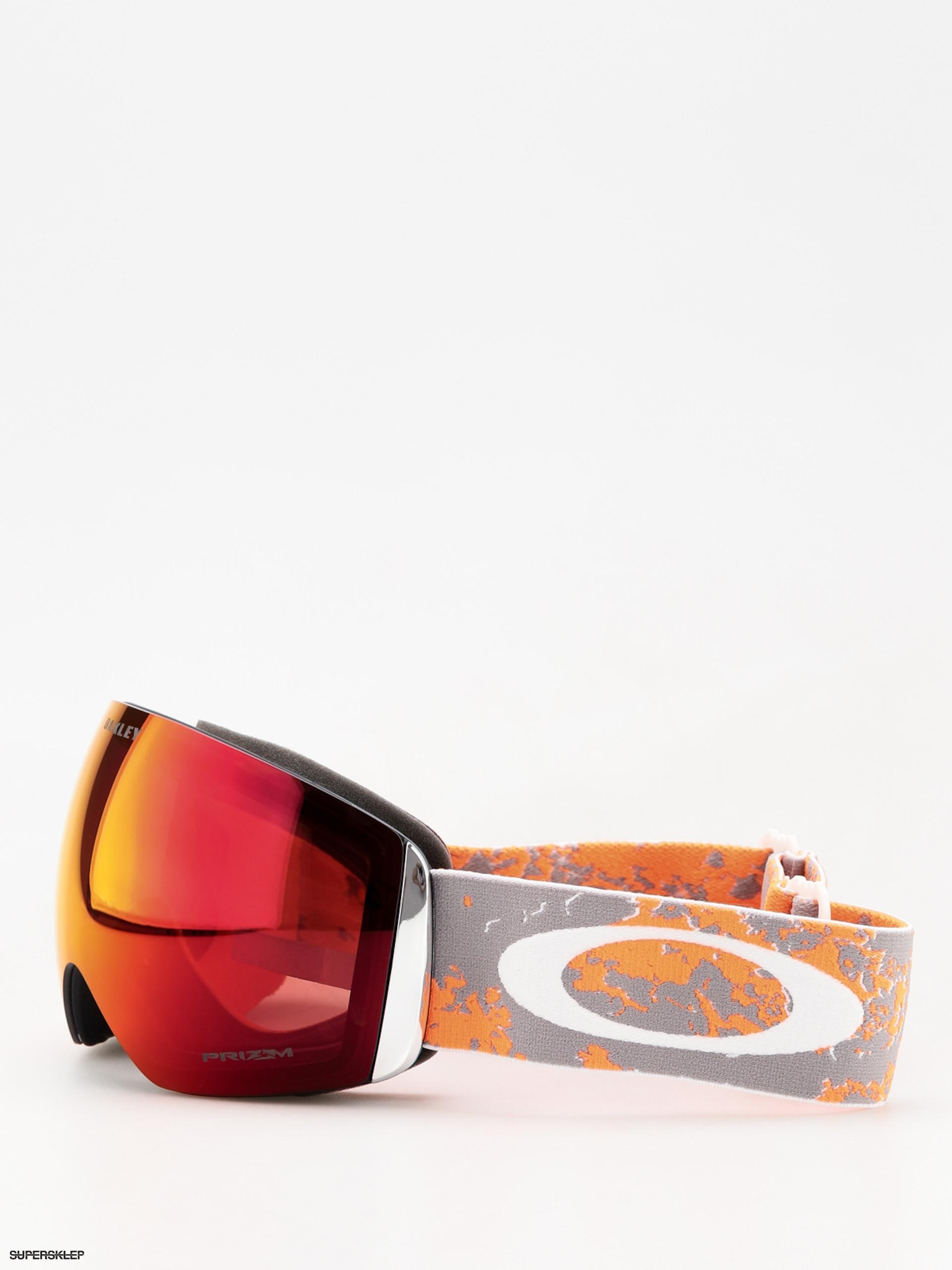 6f26b15537 Gogle Oakley Flight Deck (arctic fracture orange prizm snow torch iridium)