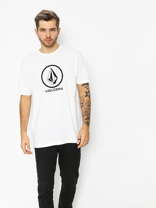 T-shirt Volcom Crisp Stone Bsc (wht)