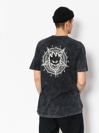 T-shirt Spitfire Pntabrn Dbl (black)