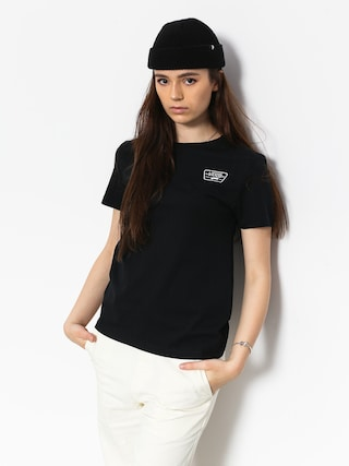 T-shirt Vans Full Patch Wmn (black)