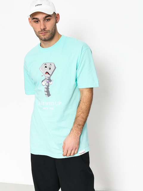 T-shirt Diamond Supply Co. Screwed Up (diamond blue)