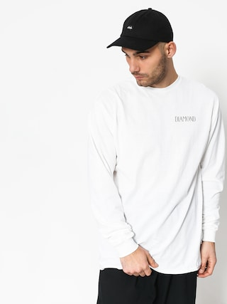 Longsleeve Diamond Supply Co. Split (white)