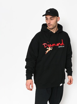 Bluza z kapturem Diamond Supply Co. Trinity HD (black)