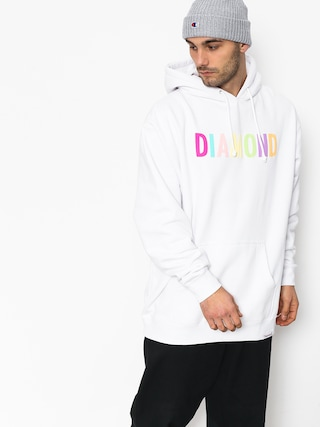 Bluza z kapturem Diamond Supply Co. Colour Pop HD (white)