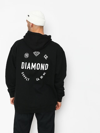 Bluza z kapturem Diamond Supply Co. Dialed Skate HD (black)