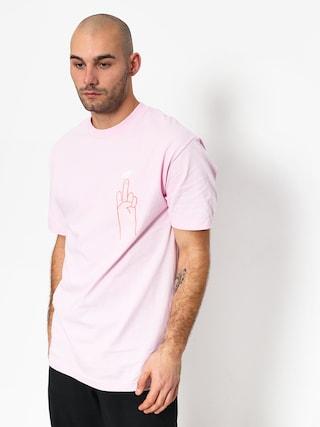 T-shirt Diamond Supply Co. No 1 Skatecore (pink)