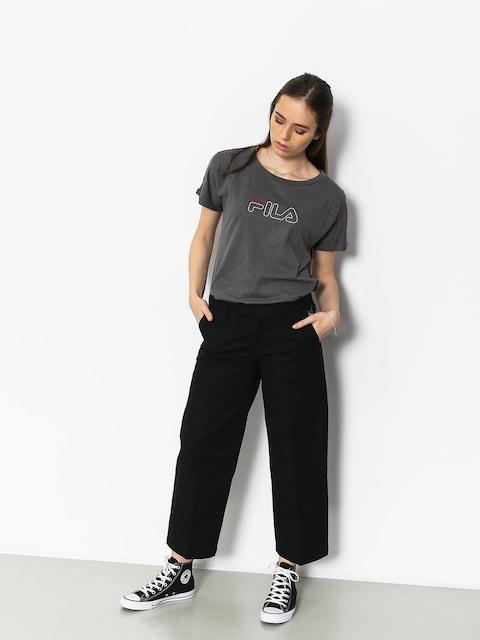 T-shirt Fila Ludi Wmn (mid grey melange)
