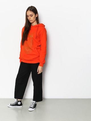 Bluza z kapturem Majesty Owl Lady HD Wmn (orange)