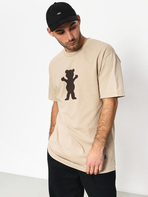 T-shirt Grizzly Griptape Og Bear Basic Tee (sand)